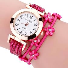 leather strap bracelet watches images New fashion crystal leather strap bracelet watch women quartz jpg