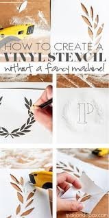 how to create a vinyl stencil custom stencils stencils and