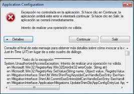 si e de microsoft obscure bug when adding applications to the list of protected emet