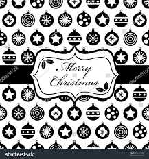 black and white wrapping paper wrapping paper black white christmas baubles stock vector 61413298