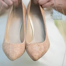 6 wedding cork style shoes diy weddings magazine