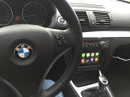 carplay installs pioneer sph da120 in a bmw 1 series e87 2007