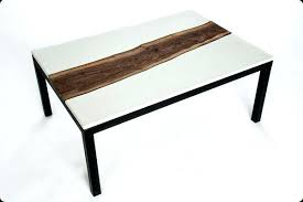 concrete tables for sale steel coffee table custom made concrete walnut and designs cvid