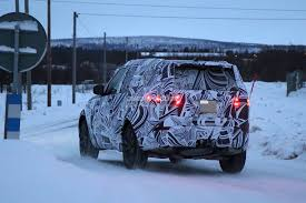 blue land rover discovery 2017 2017 land rover discovery camouflages even better during winter