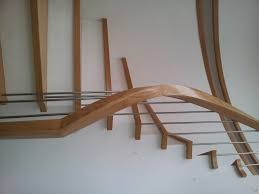 stair fantastic half turn wooden staircase including solid wood
