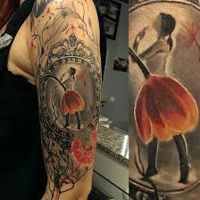 ballerina flower dress best tattoo design ideas tattoo ideas
