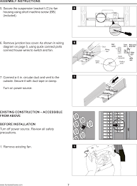 7130 02 bt ventilating bath fan with bluetooth speaker user manual