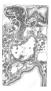 Map Of New York And Manhattan by Map Of Central Park In Manhattan In New York City New York