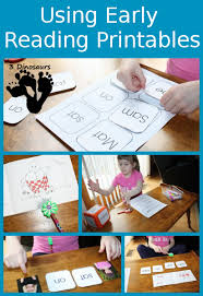 early reader printables hands learning bob