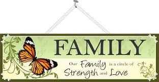family strength family sign sign factory