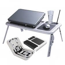 Laptop Cooling Desk Table Table With Laptop Cooling Pad