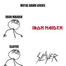 Metal Band Memes - metal band logos by elekreich meme center