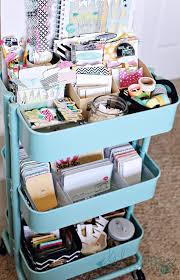 Ikea Craft Cart Raskog Cart To Organize Heidi Swapp Products Washi Tape Project