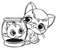 littlest pet shop coloring pages free printables book colouring