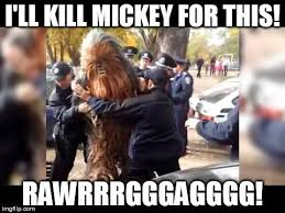 Han Shot First Meme - wtf am i going to do now i ll kill mickey for this