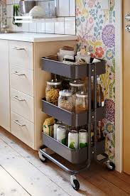 kitchen cart ideas 11 ways to use the ikea raskog cart in your home apartment