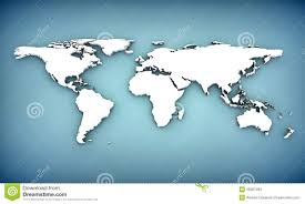 World Maps With Countries by Extruded World Map With Countries Stock Images Image 11220404
