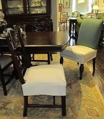 dining room seat covers dining room brown varnished mahogany