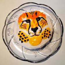 wesley u0027s cheetah birthday cake loren kerns flickr