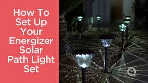 energizer 10 piece solar landscape light set energizer 10 piece solar landscape light set page 1 qvc com