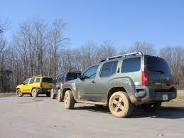 nissan xterra lifted off road 2005 nissan xterra getting dirty to the extreeeme