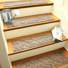 meadow sisal carpet stair treads w hook loop velcro set of carpet