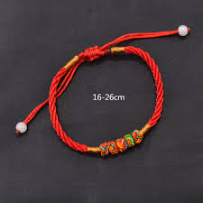 bracelet thread images Fashion lychee red rope string bracelet chinese oriental good luck jpg