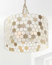 Capiz Light Pendant Capiz 3 Light Pendant Neiman