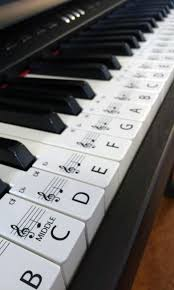 tutorial piano simple piano stickers standard keyboard piano stickers up to 61 keys the