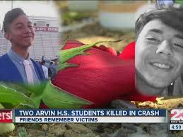 two killed in arvin crash car operated by unlicensed 16 year old