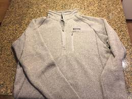 patagonia mens better sweater patagonia patagonia s better sweater 1 4 zip