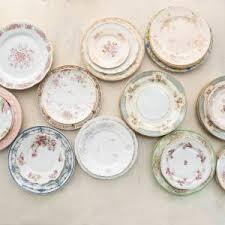 vintage plates designs by hemingway