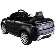 range rover icon range rover evoque licensed 12v childrens kids ride on electric
