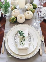 16 beautifully simple thanksgiving table setting ideas jane at home