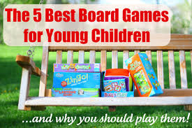 the 5 best board games for young children and why you should