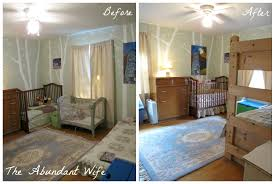 3 kids in 1 bedroom new bunk beds the abundant wife a before after