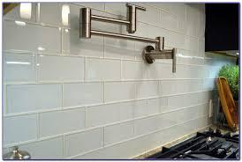 Glass Subway Tile Backsplash Installation Tiles  Home Design - Glass subway tiles backsplash