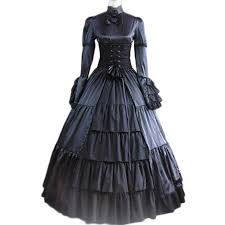 Victorian Style Halloween Costumes Sale Gothic Party Dress Vintage Victorian Belle Dress