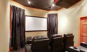new orleans home theatre room elegant warm and luxurious
