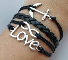 bracelet ebay images Valentine 39 s infinity love heart bracelet antique silver charm jpg
