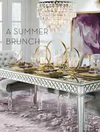 Mirrored Dining Table Z Gallerie All Set For Summer Page 62 63