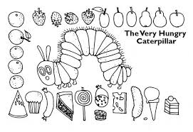 eric carle coloring pages is for caterpillar coloring pages butterfly and caterpillar