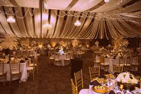 gold wedding theme 5 dazzling wedding motifs themes and concepts