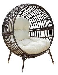 mcanally round ball chair with cushions u0026 reviews allmodern