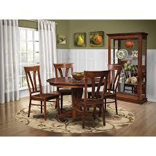 qw amish clifton 5pc dining set u2013 quality woods furniture