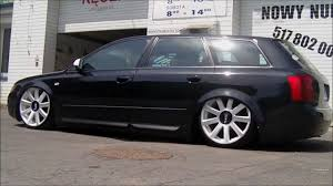 audi wagon black air ride glinek audi a4 b6 avant youtube
