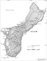 Map Of Guam Guam Base Cartogis Services Maps Online Anu
