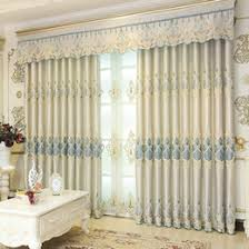 discount modern embroidered curtains 2017 modern embroidered