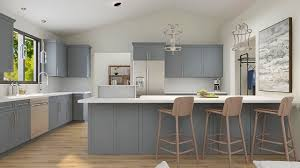 grey kitchen cabinets with white countertop top 5 reasons to consider kitchen cabinet refacing