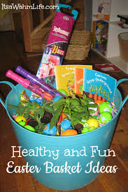 healthy easter baskets healthy easter basket ideas its a wahm